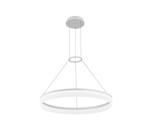 Grok Circ led hanglamp Ø1000mm wit