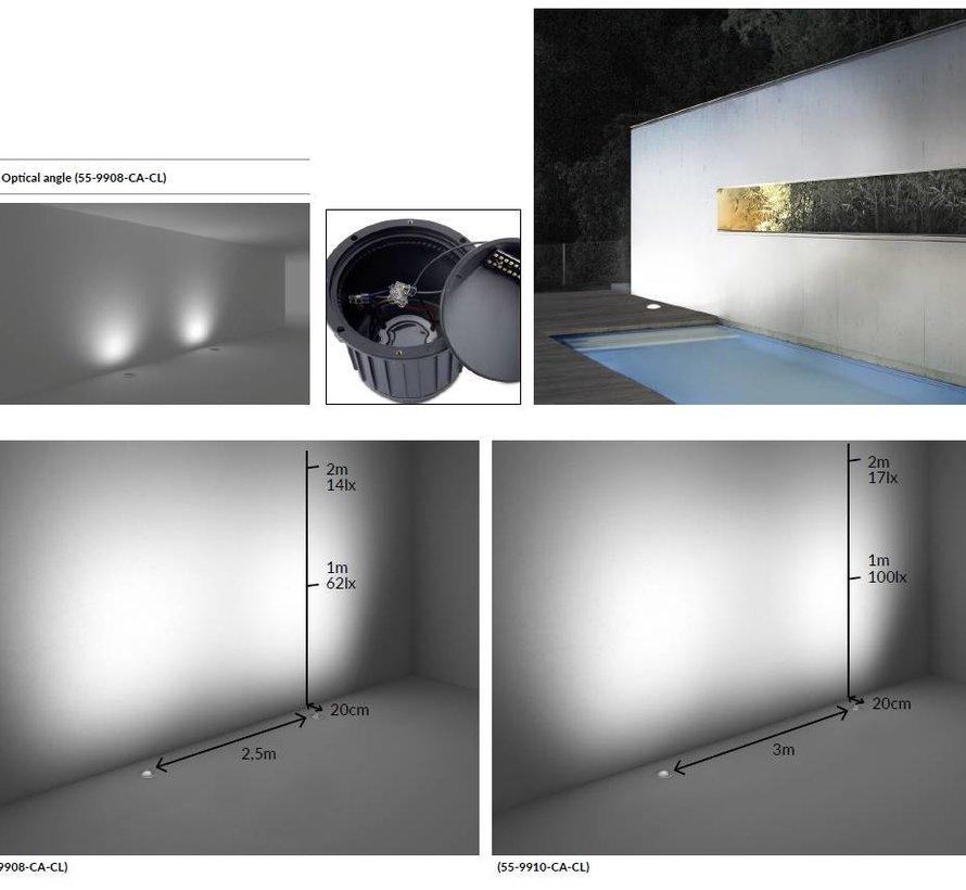 Gea Led Wall washer 17Watt RVS