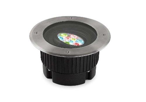 Leds-C4 Gea RGB Easy+ grondspot 24V-11Watt richtbaar RVS