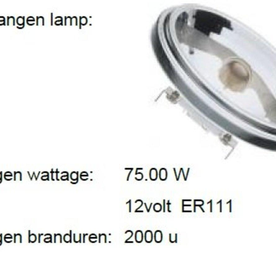 MM08254 AR111-G53 12V-13W(=75W)-45gr dimbaar 2800K