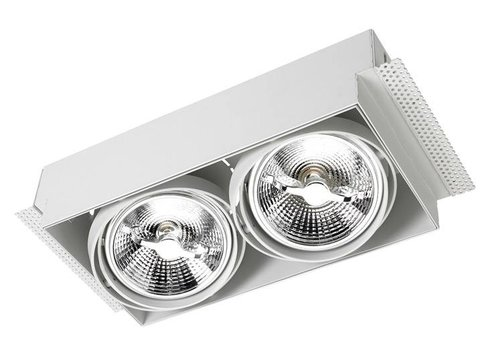 Leds-C4 Multidir Trimless richtbare inbouwspot led 2 x AR111-G53