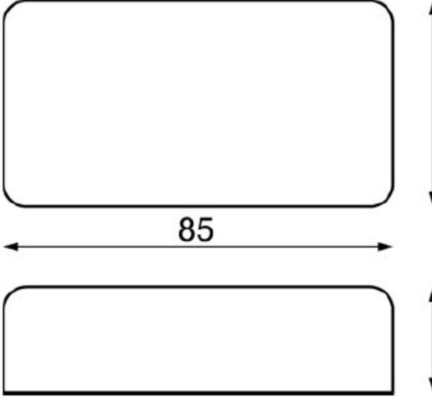 Colour Zone ledstrip Dimmer controller 12-24Volt met AB