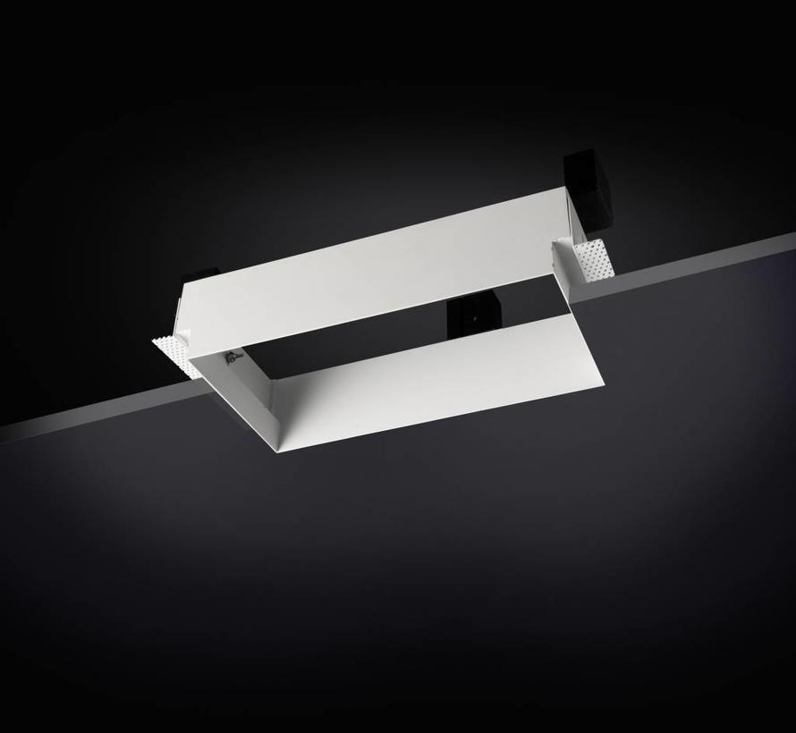 Multidir Trimless richtbare led inbouwspot  2 x MR16-GU5.3