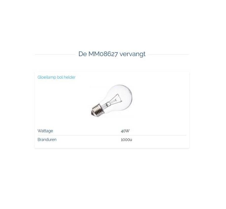 MM08627 Led Classic 5W-2700K E-27 dimbaar
