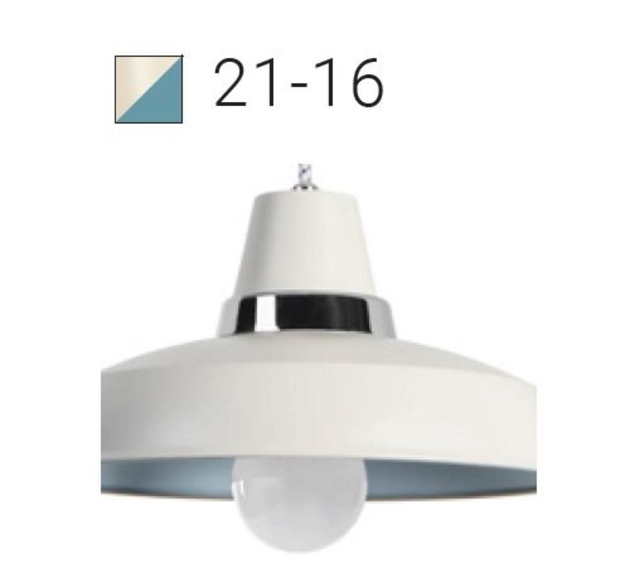 Vintage Ø256mm hang- wandlamp E-27  in 2 kleuren