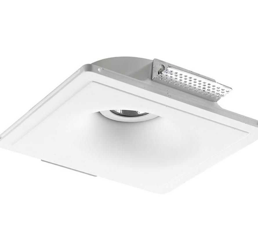 GES adjustable trimless plaster recessed spot can be painted over