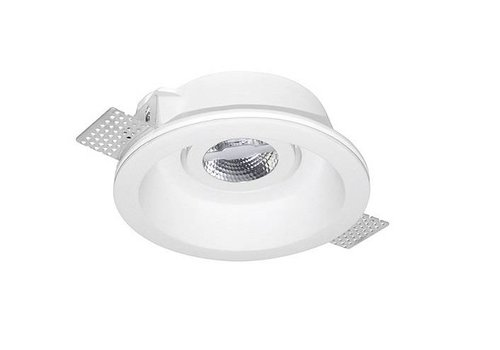 Leds-C4 GES Ø155mm richtbare trimless gips inbouwspot voor 50mm ledlamp
