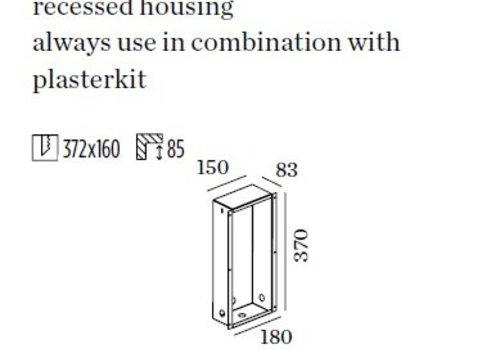 Wever & Ducre Muur inbouwbox voor Themis 2.7
