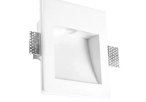 Leds-C4 Secret vierkant trimless wand inbouw 1Watt-3000K