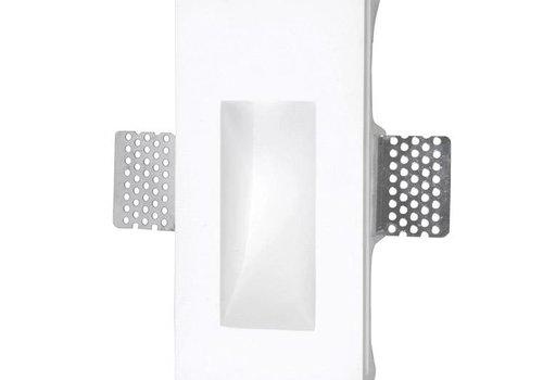 Leds-C4 Secret rechthoekig trimless wand inbouw 1Watt-3000K