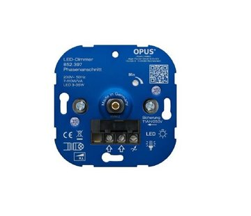 Opus Led muurinbouw dimmer 3-35Watt