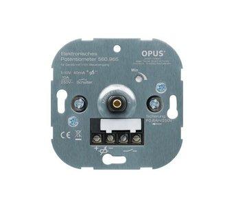 Opus 1-10Volt dimmer voor draai- drukknop