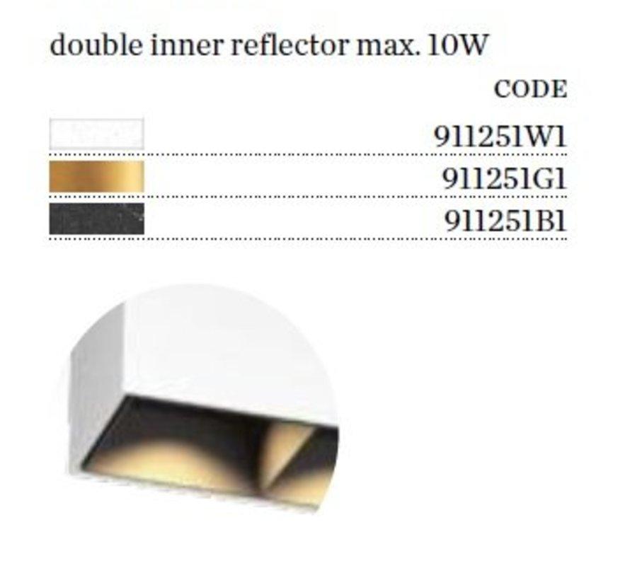 Box PAR16 opbouw LED armatuur  GU10 230Volt