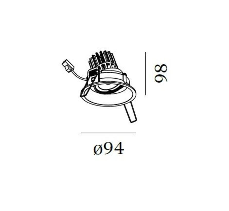 Deep Adjust 1.0 PAR16 richtbare inbouwspot GU10