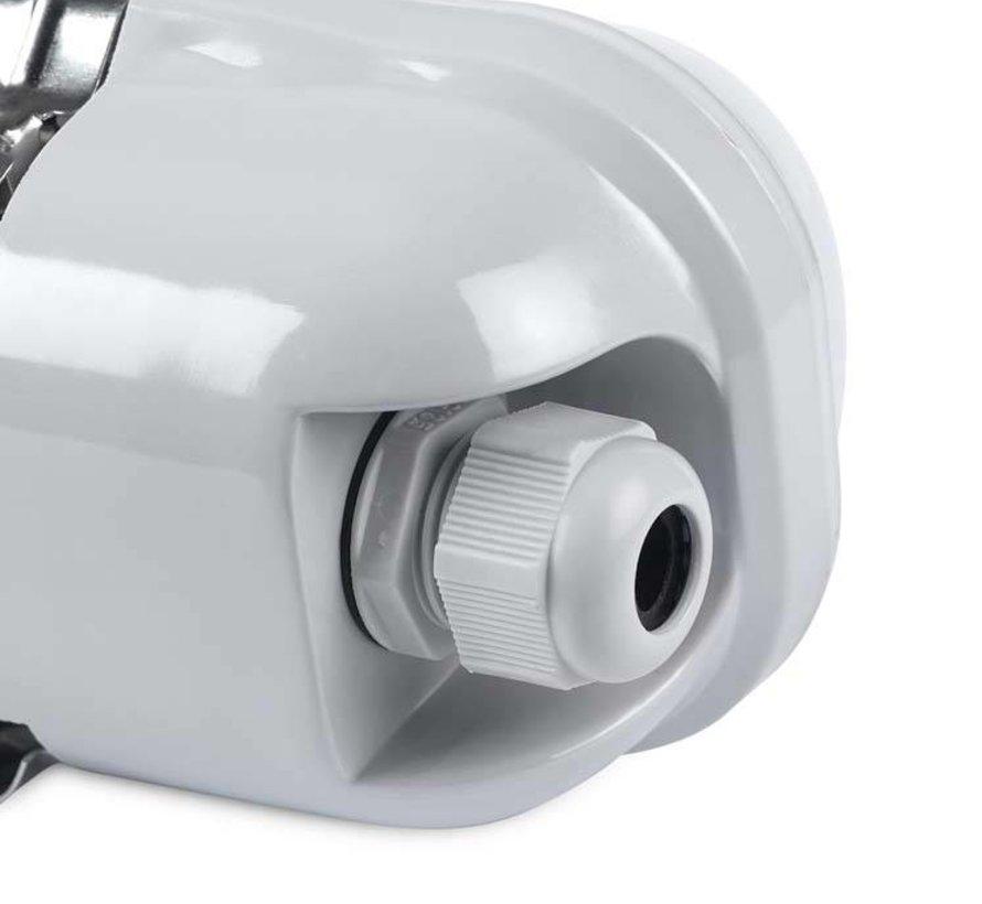 Solid slagvast LED 17,5W-4000K opbouwarmatuur IP65-IK10