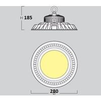 Disco 8300 Highbay led hanglamp 150W-4000K
