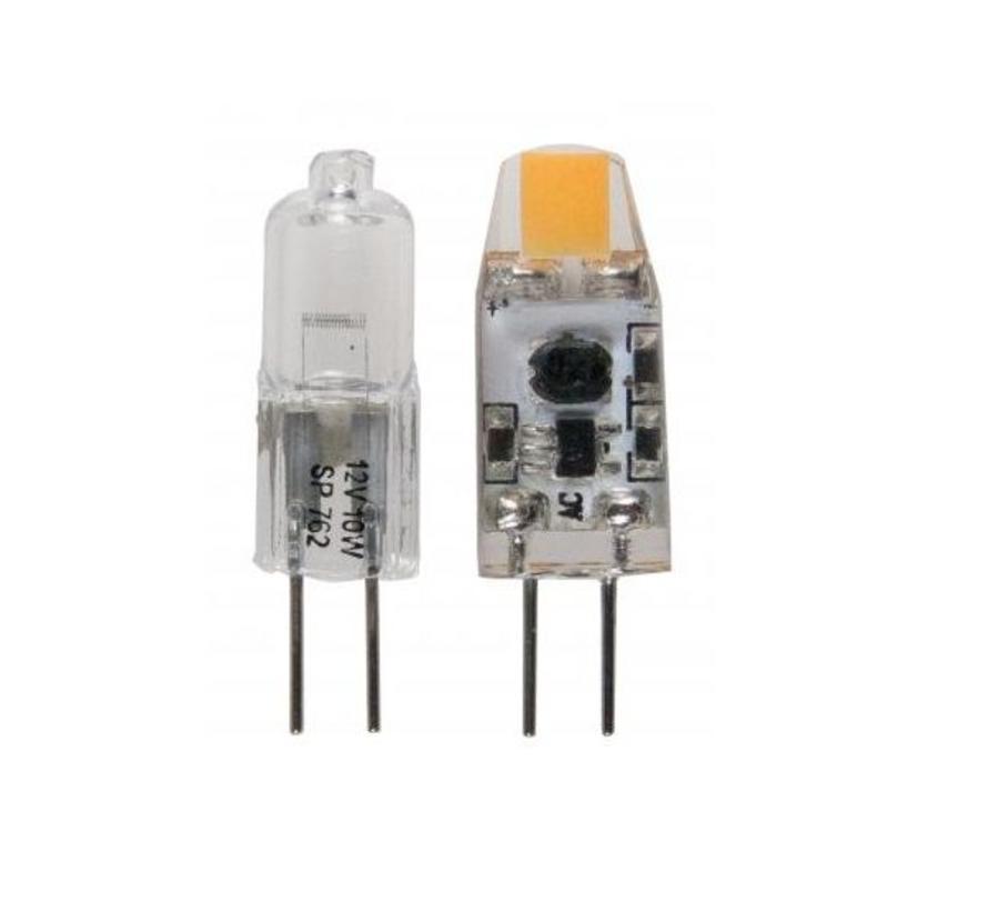 MM06108 G4 ledlamp 12Volt-1,2Watt 2800K