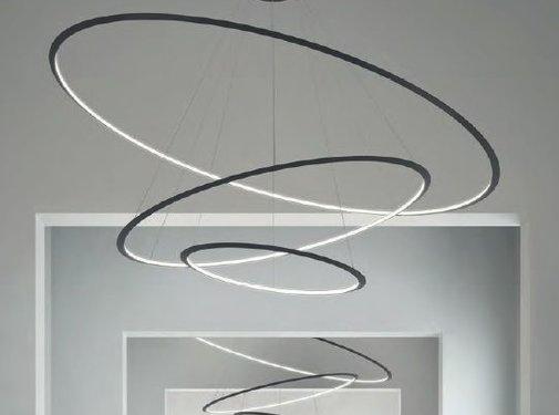 Grok Circular Chandelier 3-ring Ø2000mm