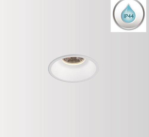 Wever & Ducre Deeper IP44 1.0 LED vaste en verdiepte Led inbouwspot