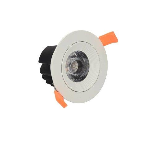 Integratech Orient IP44 richtbare led 12Watt inbouwspot wit