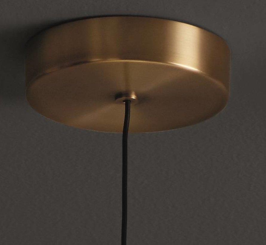 Candle pendant  3Watt-2700K mat brons
