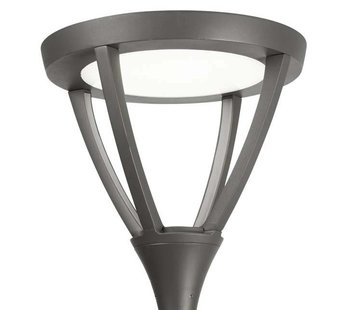 Leds-C4 Proud paaltop Ø60 Streetlight 40Watt antraciet