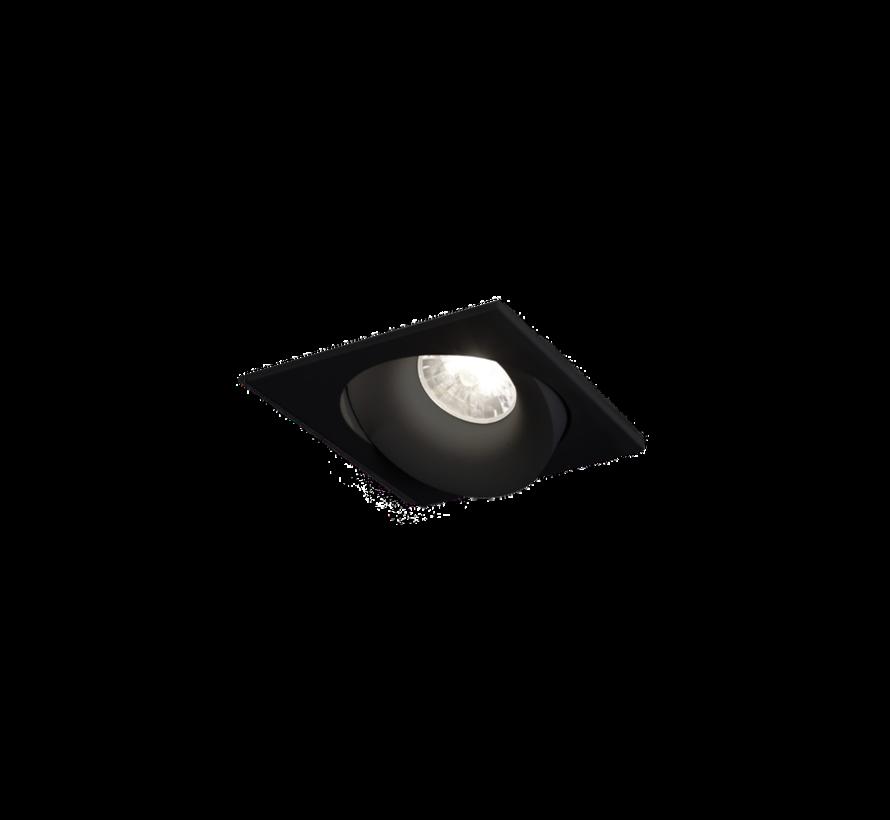 Ron 1.0 Led dimbare inbouwspot 7-10W richtbaar in wit, zwart en alu grijs