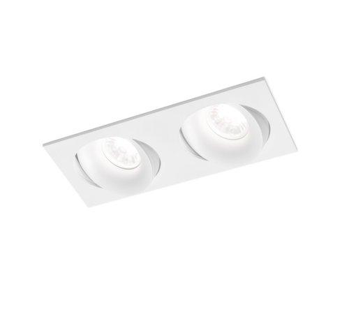Wever & Ducre Ron 2.0 Led dimbare inbouwspot 7-10W richtbaar in wit, zwart en alu grijs