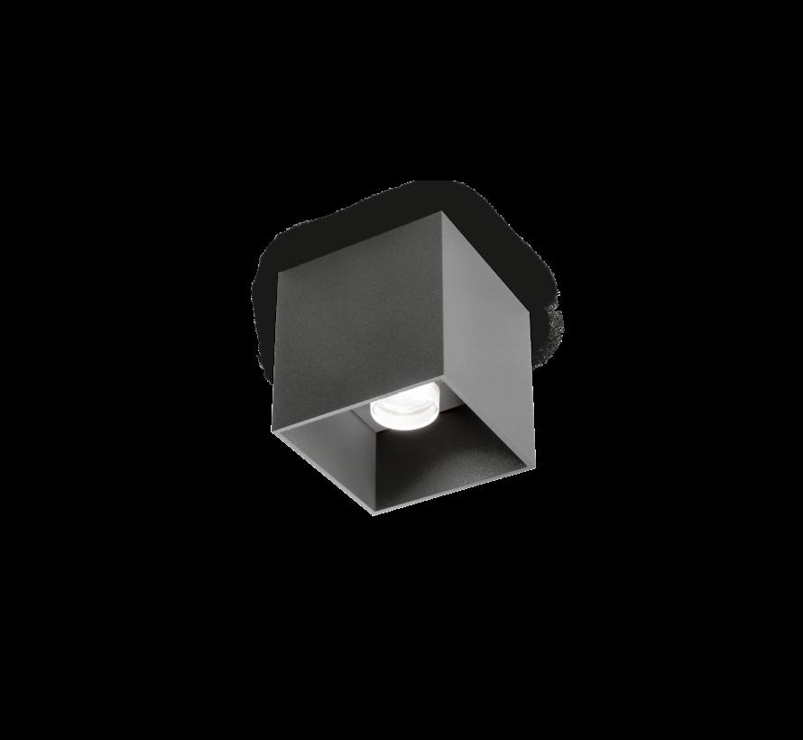 Box 1.0 LED outdoor opbouwspot 8Watt dimbaar