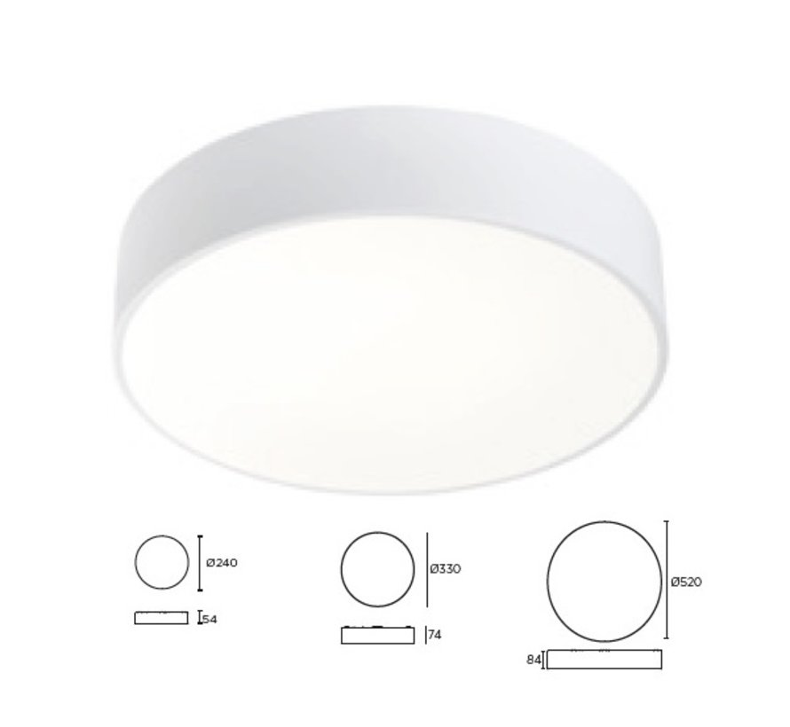 Caprice LED plafond/hanglamp
