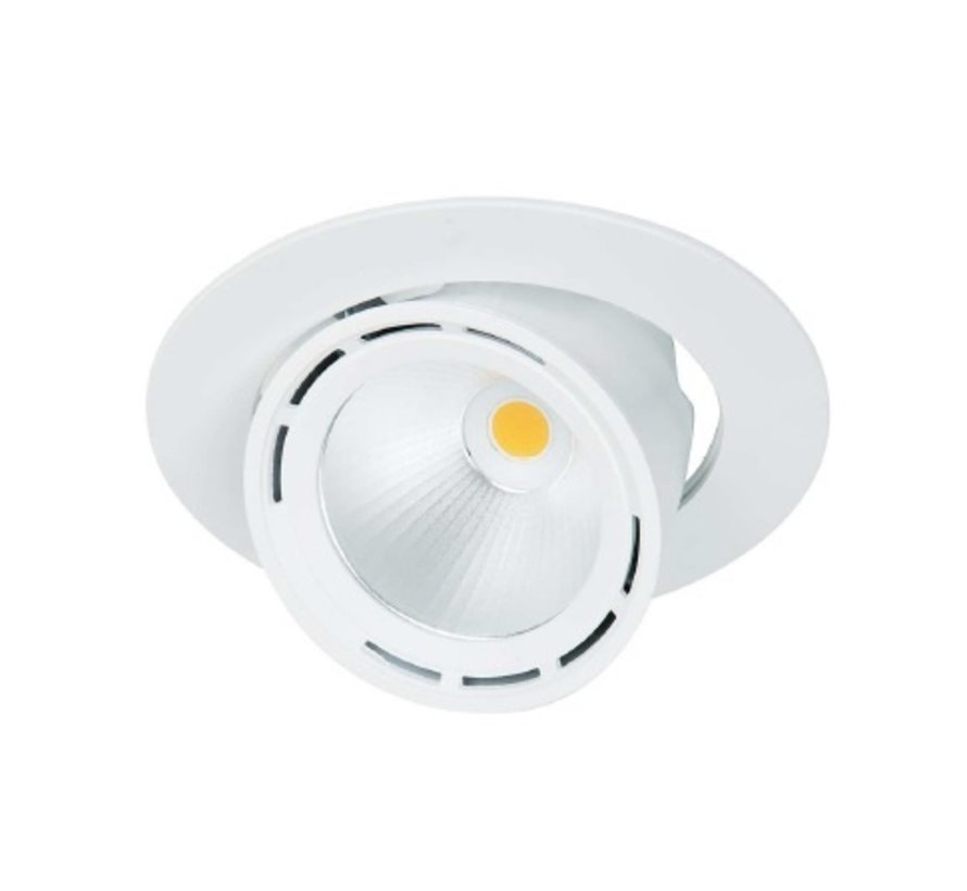 Mini Lean DL uitkantelbare LED straler 17-35Watt CRI90