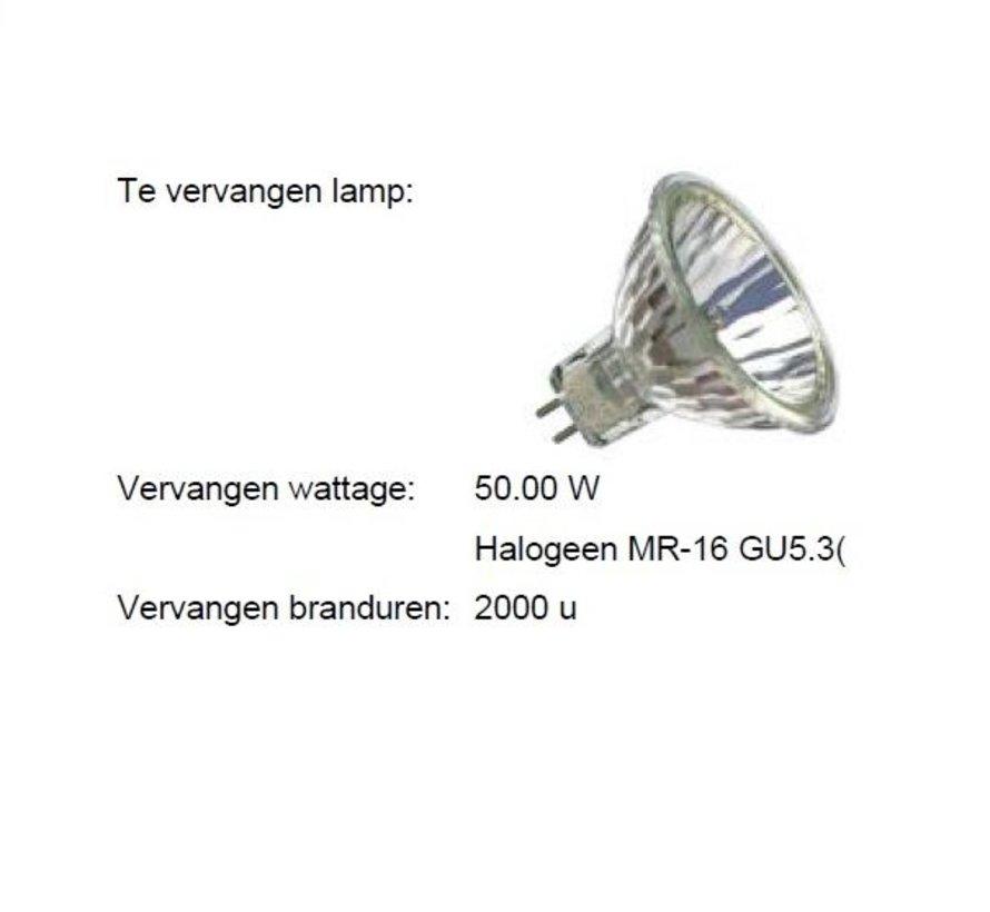 MM09918 MR16-GU5.3 Dtw 350mA-6Watt-36gr  CRI90+