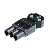 GST18/3 stekker gemonteerd aan 230Volt snoer