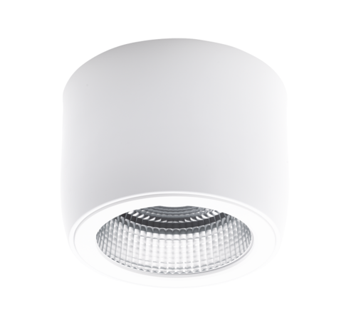 Intra Lighting Nitor C HE LED opbouw 2600lm - 22W FO IP20 black