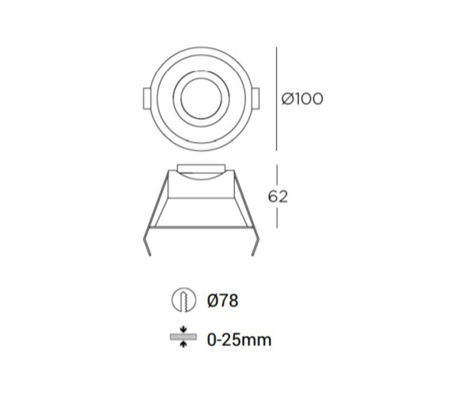 Play Optics AG13 vaste IP54ledspot GU10