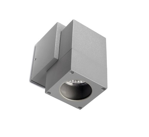 Leds-C4 Icaro vaste led wandlamp 230Volt-GU10 alu grijs