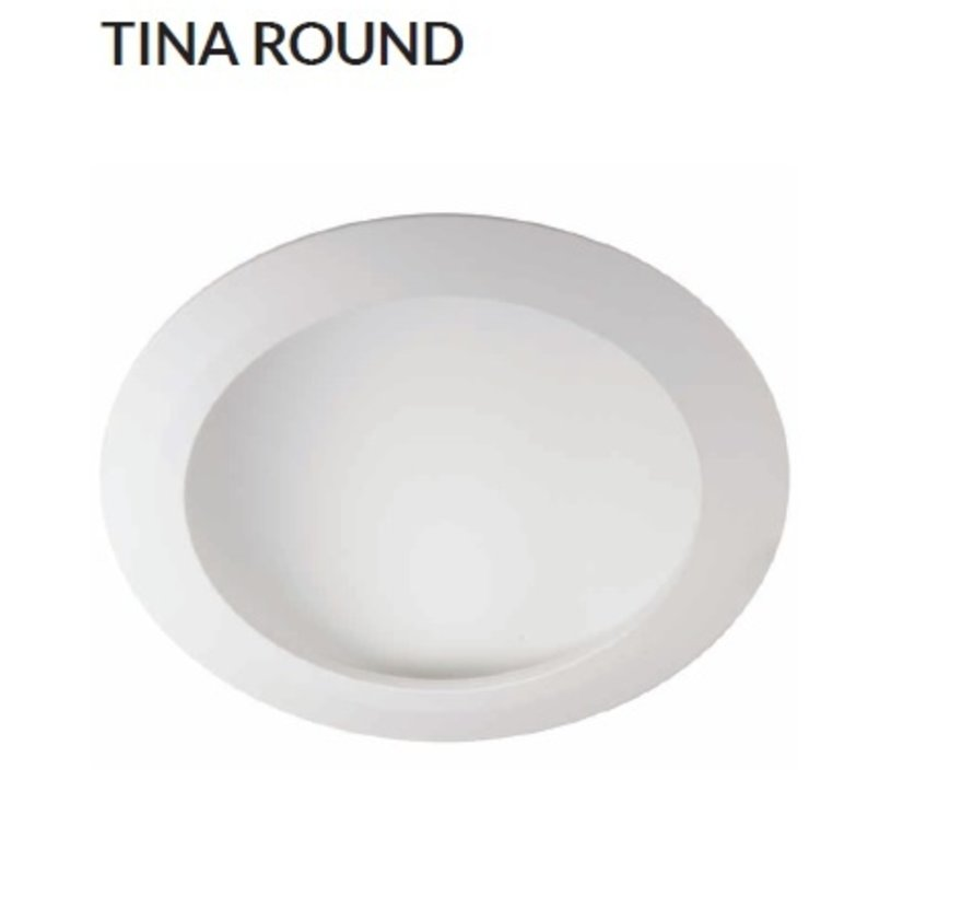 Tina Round led inbouw downlighter
