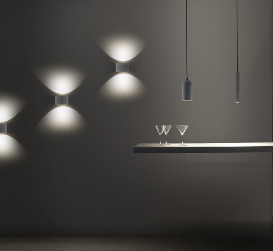 Eclipse concrete Led hanglamp 7W-2700K