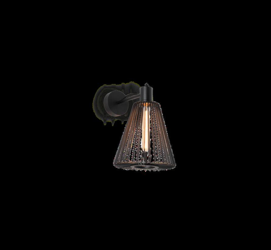 Wiro 1.1 Cone wandlamp E-27 met aansluitsnoer en dimmer