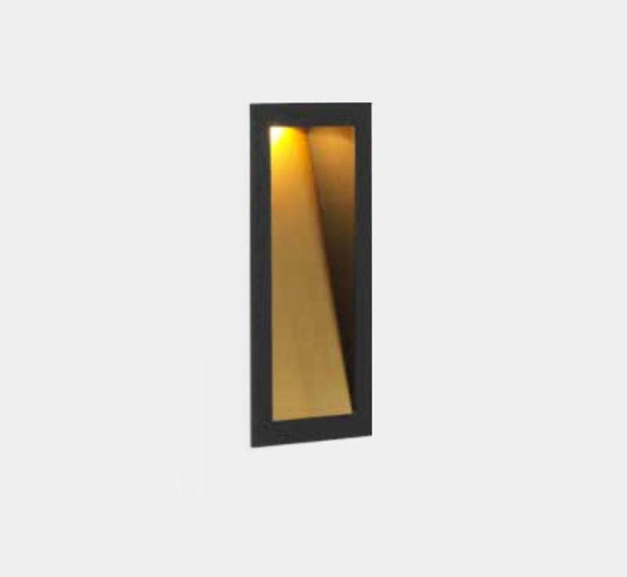 Themis 1.7 led wand inbouw 4-5W 2700-3000K