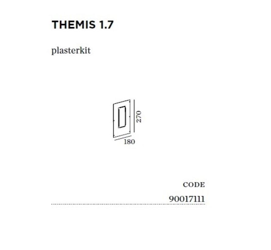 Plasterkit voor Themis 1.7