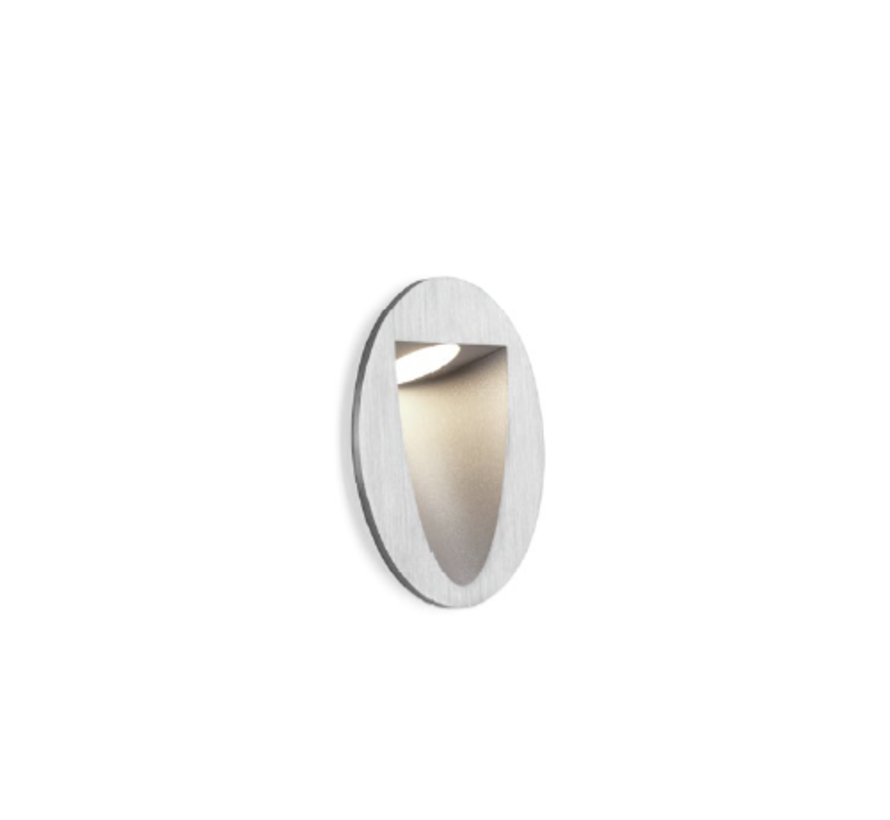 Smile In 1.0 led wall recessed  round 4/6W-3000K