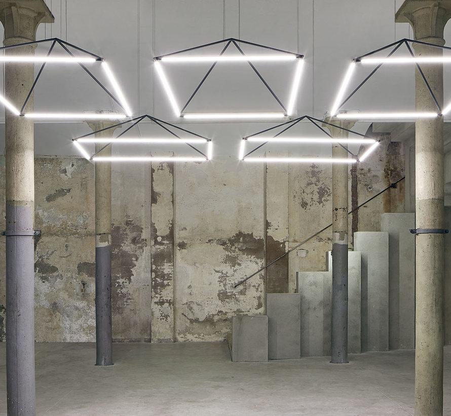 Tubs LED hanglamp 80 x 120cm  48Watt-3000K