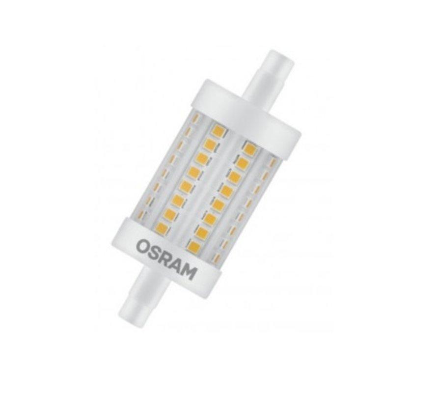 Osram R7s 8Watt-2700K R7s 78mm dimbaar