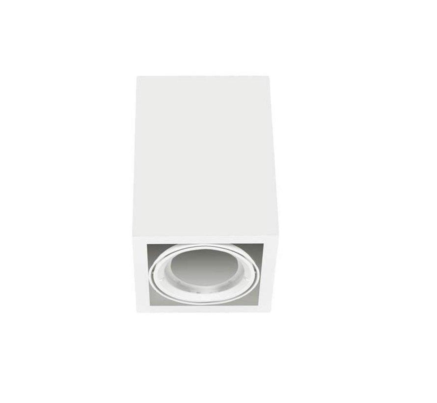 Multidir Evo L Surface opbouwspot voor 2x Ø111mm led