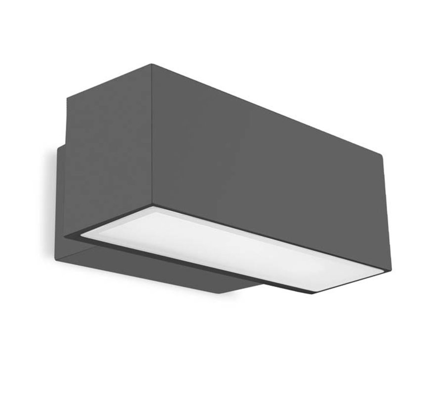 Afrodita Led down wall surface 19Watt IP65