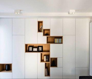 Wever-Ducre Box 2.0 LED 2 x 8Watt opbouw armatuur dimbaar