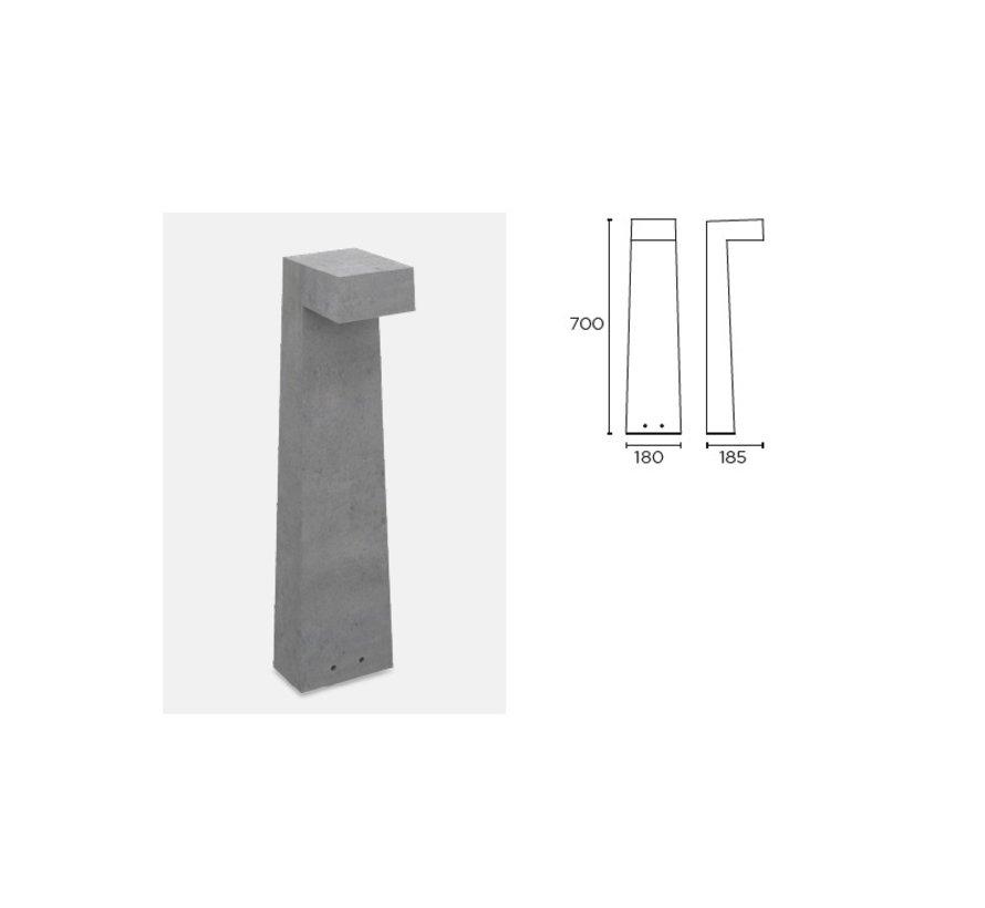 Simenti bollard 70cm 9Watt-3000K