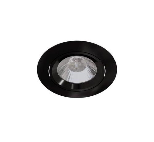 Leds-C4 Play Optics AG12 richtbare ledspot 7Watt-2700K zwart