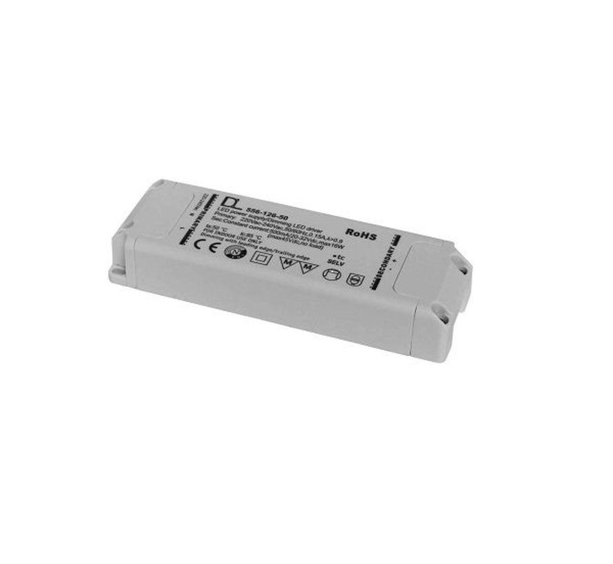 Eco-C led driver 500mA 7-11 Watt dimmable phase on / off